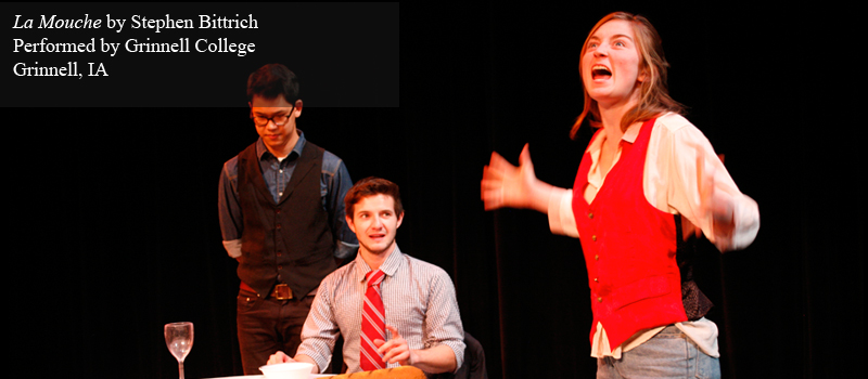 Short Play for High Schools La Mouche by Stephen Bittrich