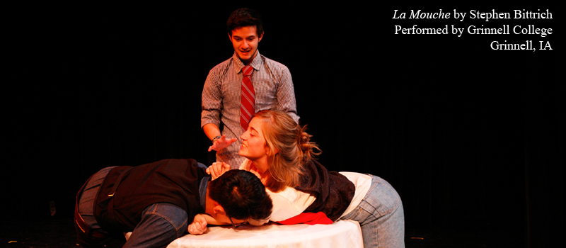 Short Play for Colleges La Mouche by Stephen Bittrich